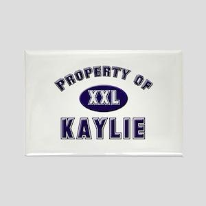 Property of kaylie Rectangle Magnet