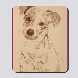 Jack_Russell_Smooth_KlineSq Mousepad