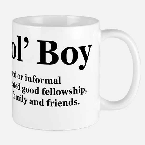 goodolboydefineonlight Mug