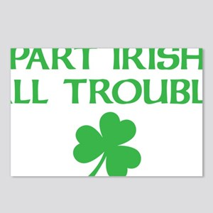 part irish all trouble Postcards (Package of 8)