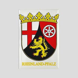 Rheinland-Pfalz (gold) Rectangle Magnet