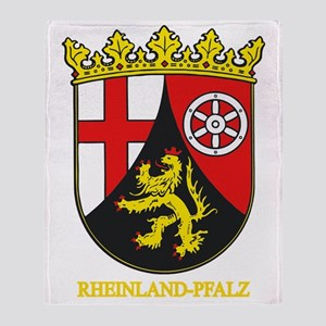 Rheinland-Pfalz (gold) Throw Blanket