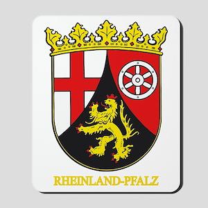 Rheinland-Pfalz (gold) Mousepad