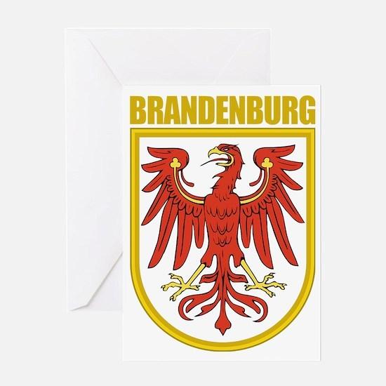 Brandenburg (gold) Greeting Card