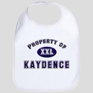 Property of kaydence Bib