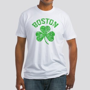 Boston Grunge - dk Fitted T-Shirt