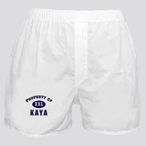 Property of kaya Boxer Shorts