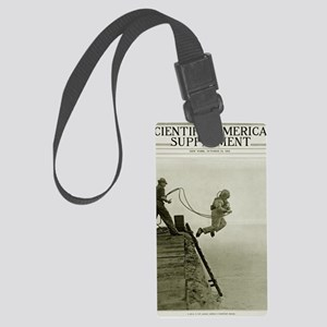 DEEP SEA DIVER ENTRY Large Luggage Tag