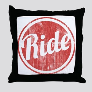 Vintage_Ride Throw Pillow