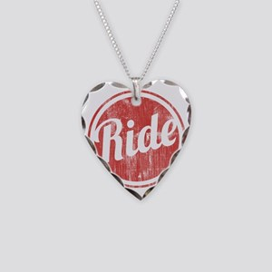 Vintage_Ride Necklace Heart Charm