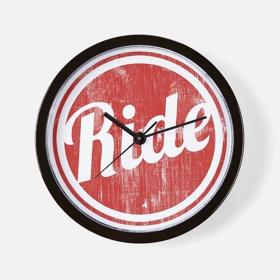Vintage_Ride Wall Clock