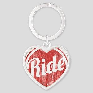 Vintage_Ride Heart Keychain