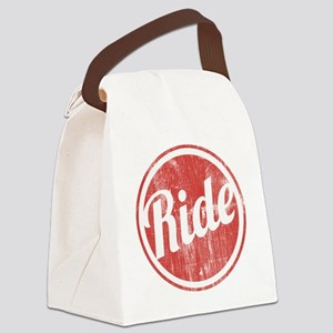 Vintage_Ride Canvas Lunch Bag