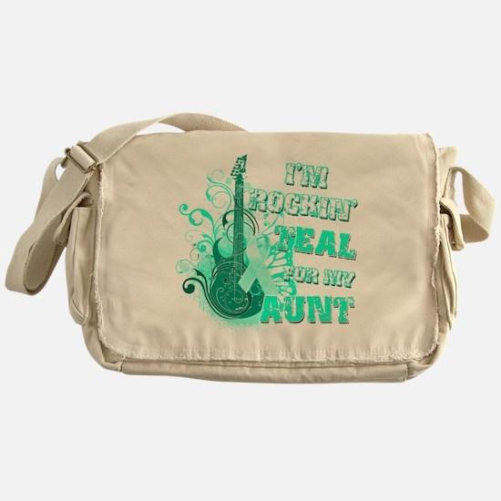 Im Rockin Teal for my Aunt Messenger Bag