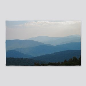 Blue Smokey Mountains #02 3'x5' Area Rug