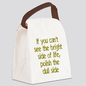 bright-side1 Canvas Lunch Bag