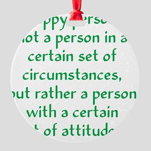 happy-person2 Round Ornament