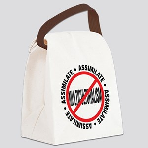 assimilate Canvas Lunch Bag