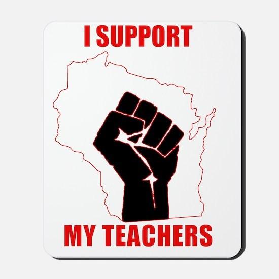 support-teachers Mousepad