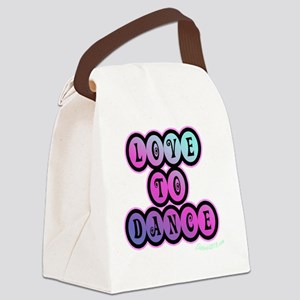 love_to_dance_3 Canvas Lunch Bag