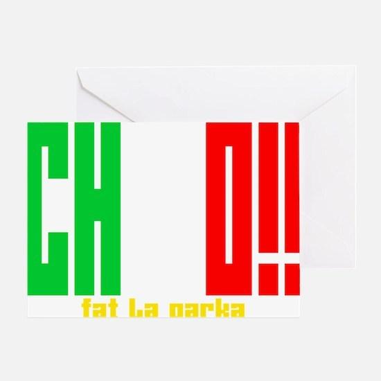 Chico!! Greeting Card