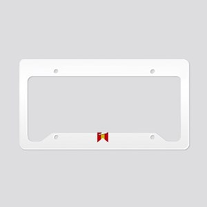 Virginia Beach Script B License Plate Holder