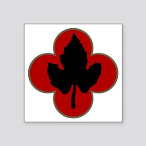 """43rd Infantry Division Square Sticker 3"""" x 3"""""""