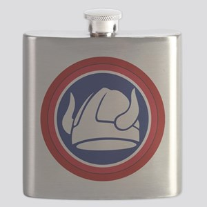 47th Infantry Division Flask