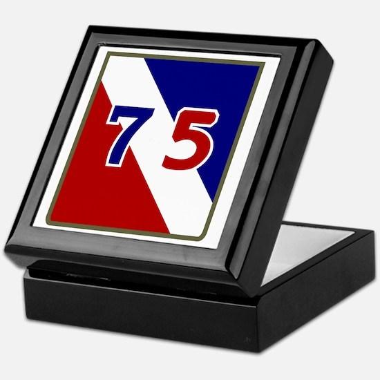 75th Infantry Division Keepsake Box