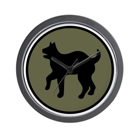 81st Infantry Division Wall Clock