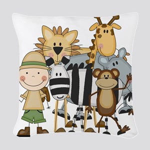 SAFARIBOY Woven Throw Pillow