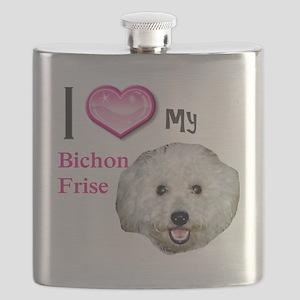 BichonFrise2 Flask