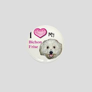 BichonFrise2 Mini Button