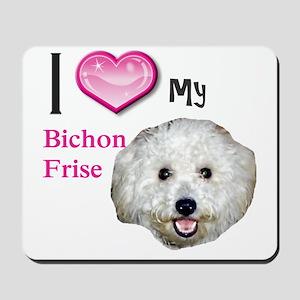 BichonFrise2 Mousepad