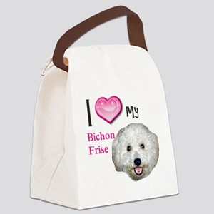 BichonFrise2 Canvas Lunch Bag