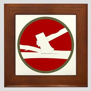 84th Infantry Division Framed Tile
