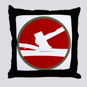 84th Infantry Division Throw Pillow