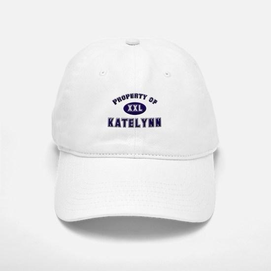 Property of katelynn Baseball Baseball Cap