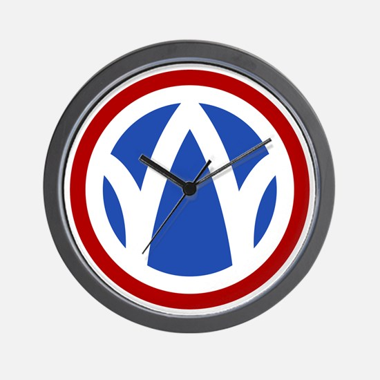 89th Infantry Division Wall Clock