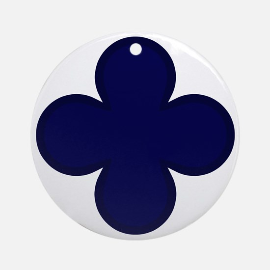 88th Infantry Division Round Ornament