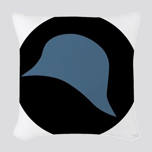 93rd Infantry Division Woven Throw Pillow