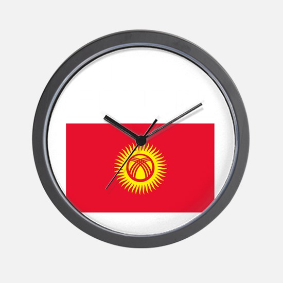 Kyrgyz_New-Dark Wall Clock