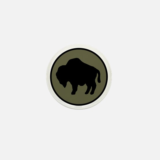 92nd Infantry Division Mini Button