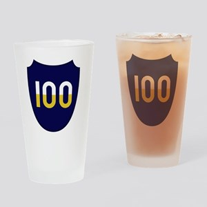 100th Infantry Division Drinking Glass