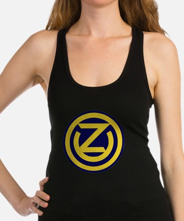 102nd Infantry Division Racerback Tank Top