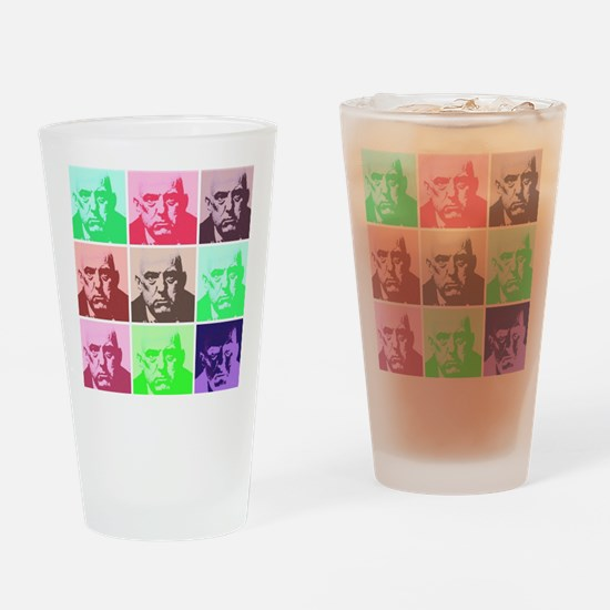 crowley large Drinking Glass