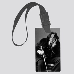 Oscar_Wilde_portrait Large Luggage Tag