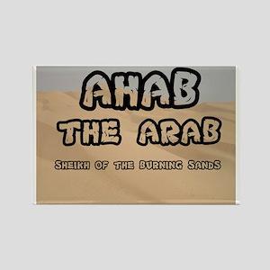AHAB THE ARAB - SHEIKH OF THE BUR Rectangle Magnet