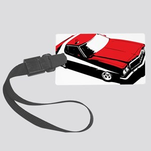 Starsky  Hutch Large Luggage Tag