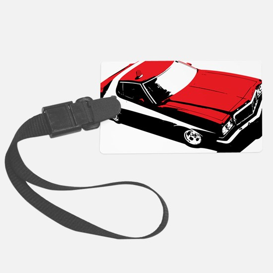 Starsky  Hutch Luggage Tag